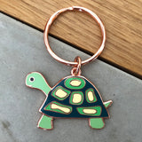 tortoise keyring, tortoise keychain, tortoise key chain, tortoise key ring, tortoise accessory, tortoise gift, gift for tortoise lover, tortoise gift for girl, tortoise gift for boy
