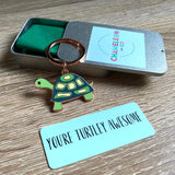 turtley awesome keyring gift