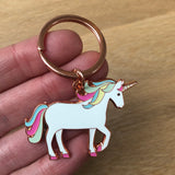 you are amazing unicorn keyring, unicorn keyring, keyring gift for firend, lockdown gift, isolation gift, quarantine gift, social distance gift, positive message gift for friend, letterbox gift