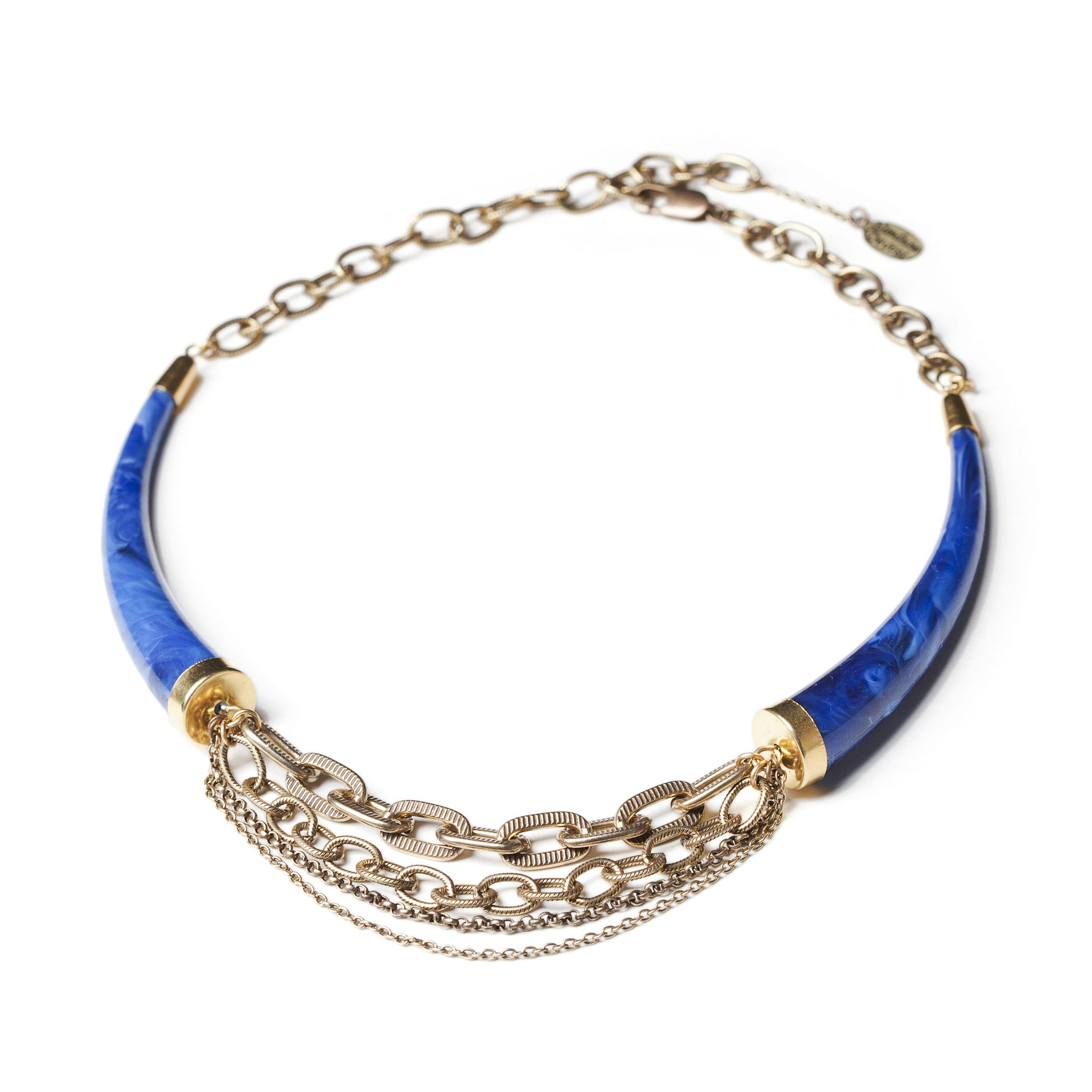 Lapis Collar Necklace (SD0524)
