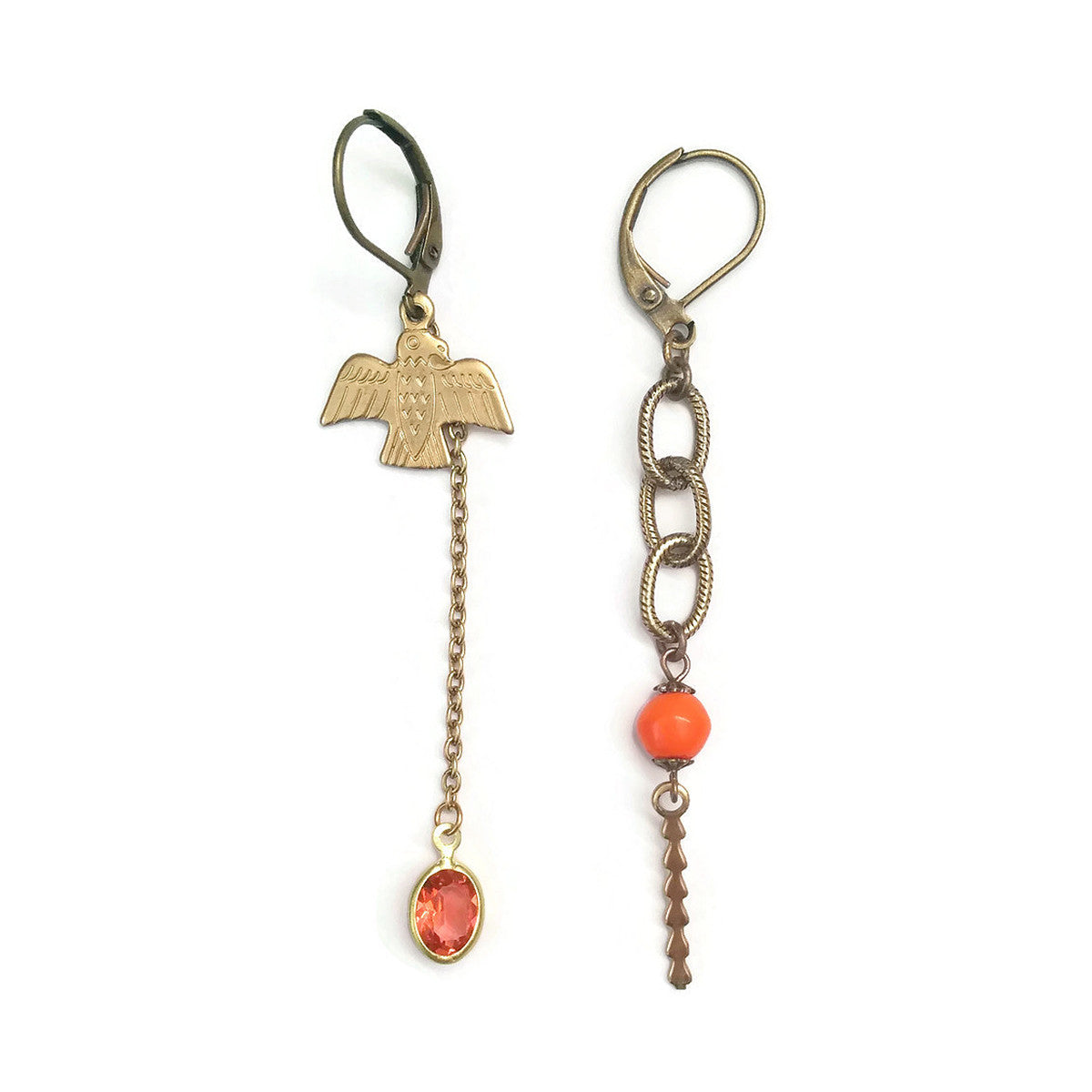 Totem Earrings (SD968) - Sandrine Devost Jewelry