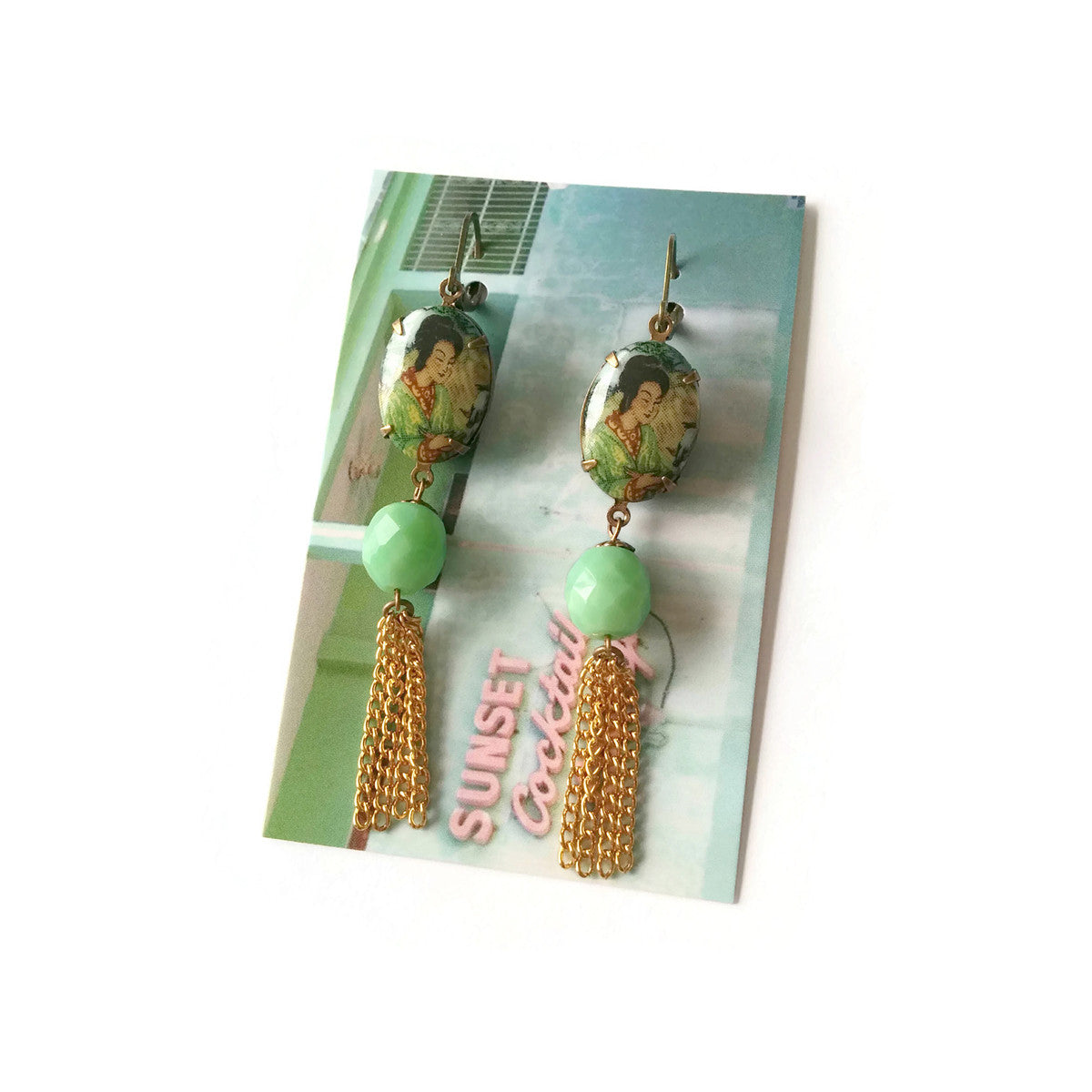 Pagode Earrings (SD1114)