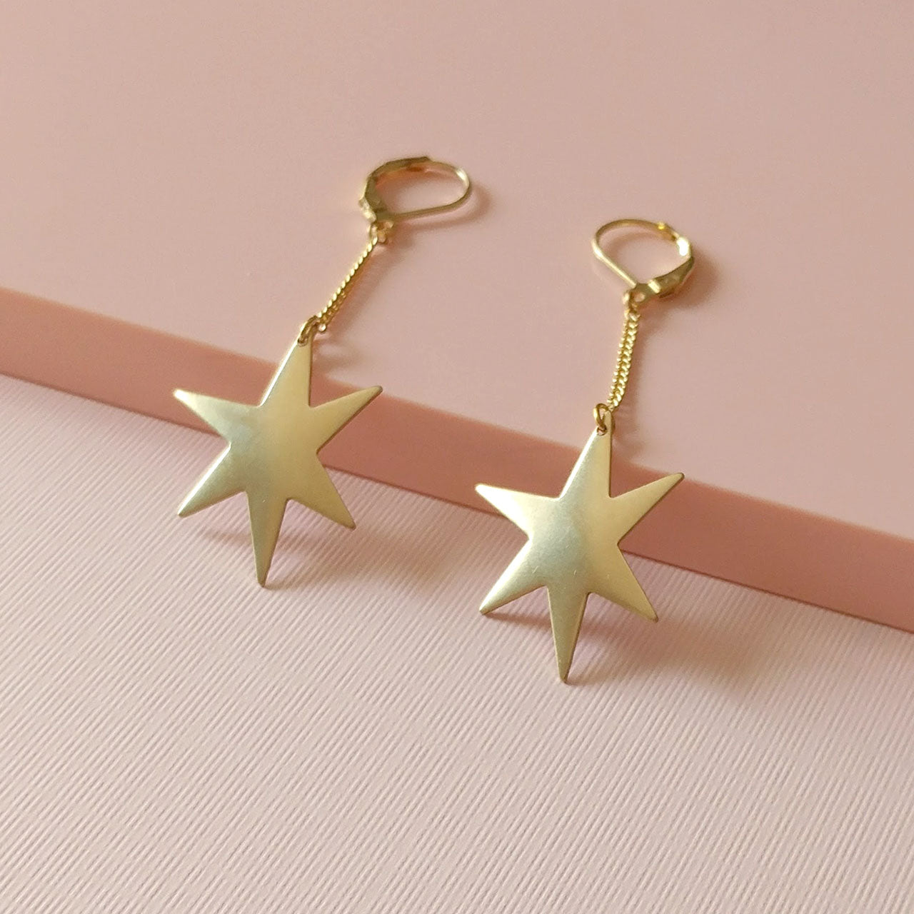 large star earring pendants