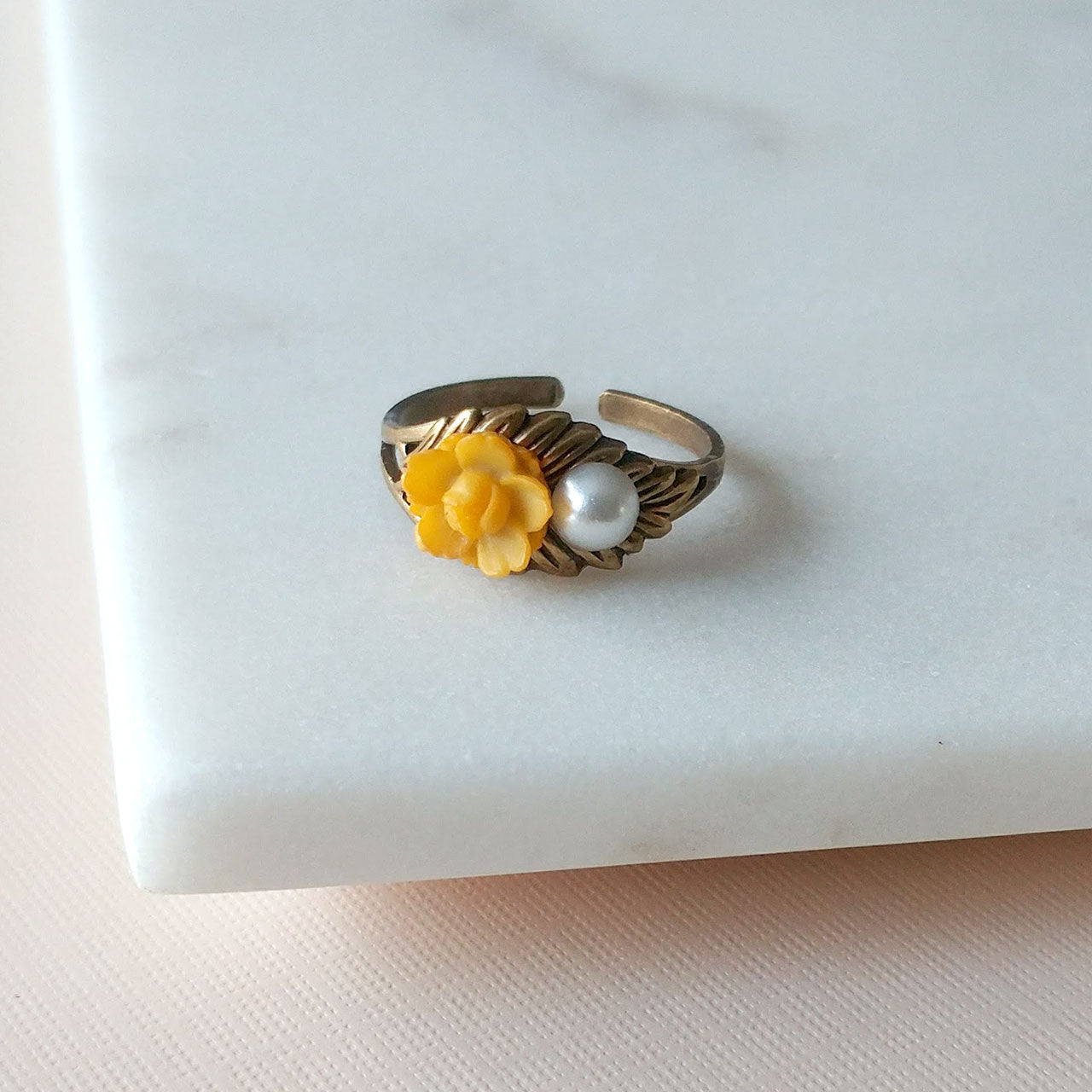 Sakura ring in yellow (SD1367)