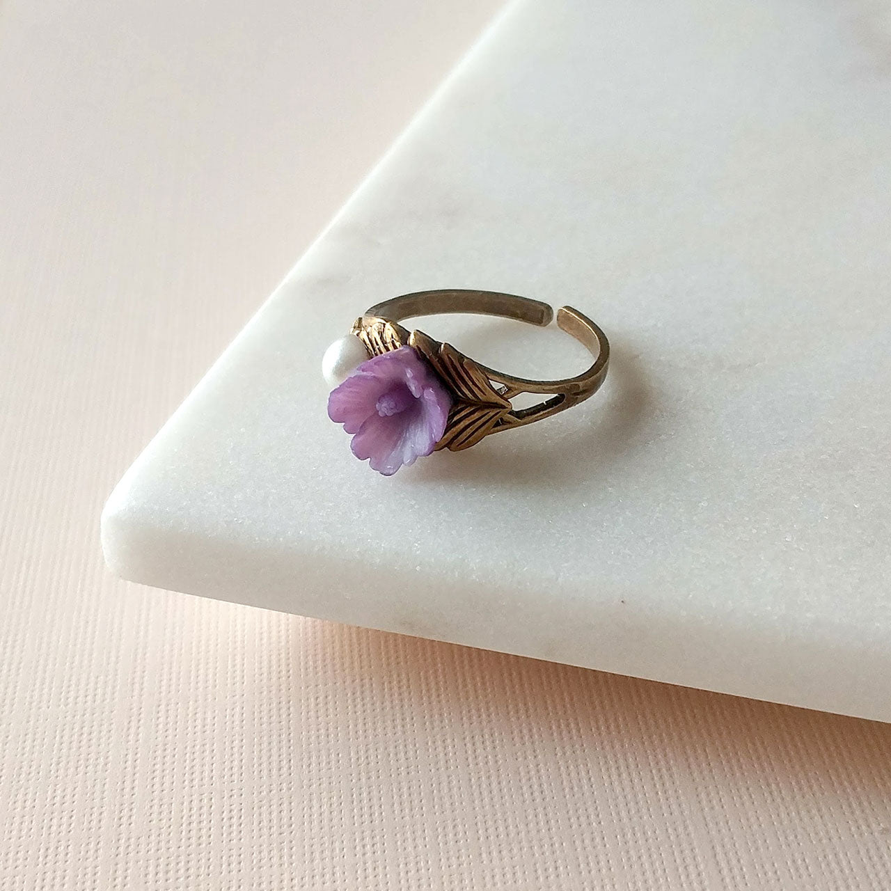 Sakura ring in violet (SD1367)