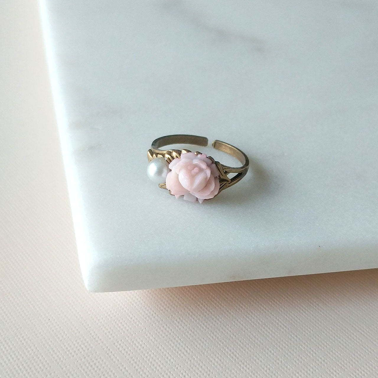 Sakura ring in pale rose (SD1367)