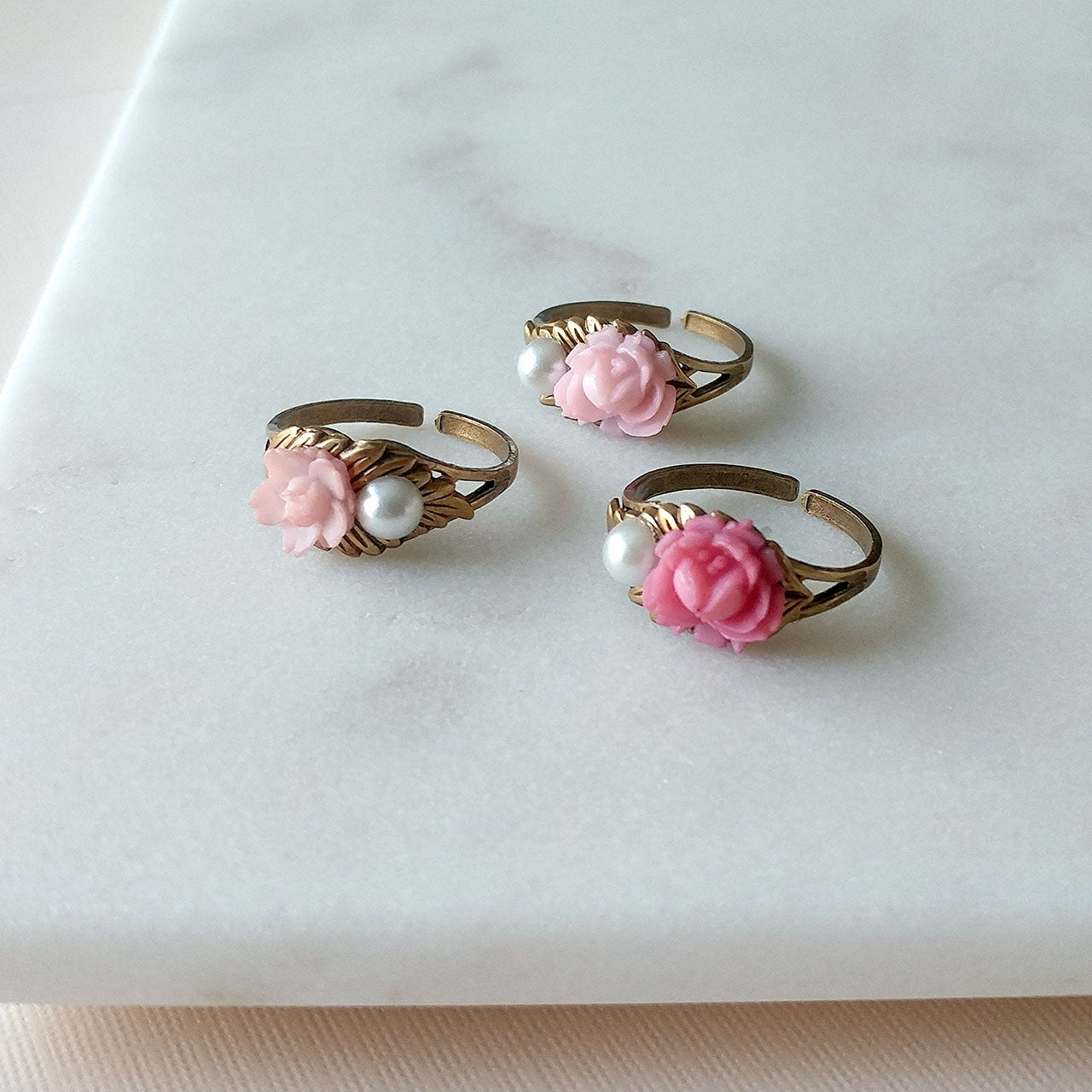 Sakura ring in dark pink (SD1367)