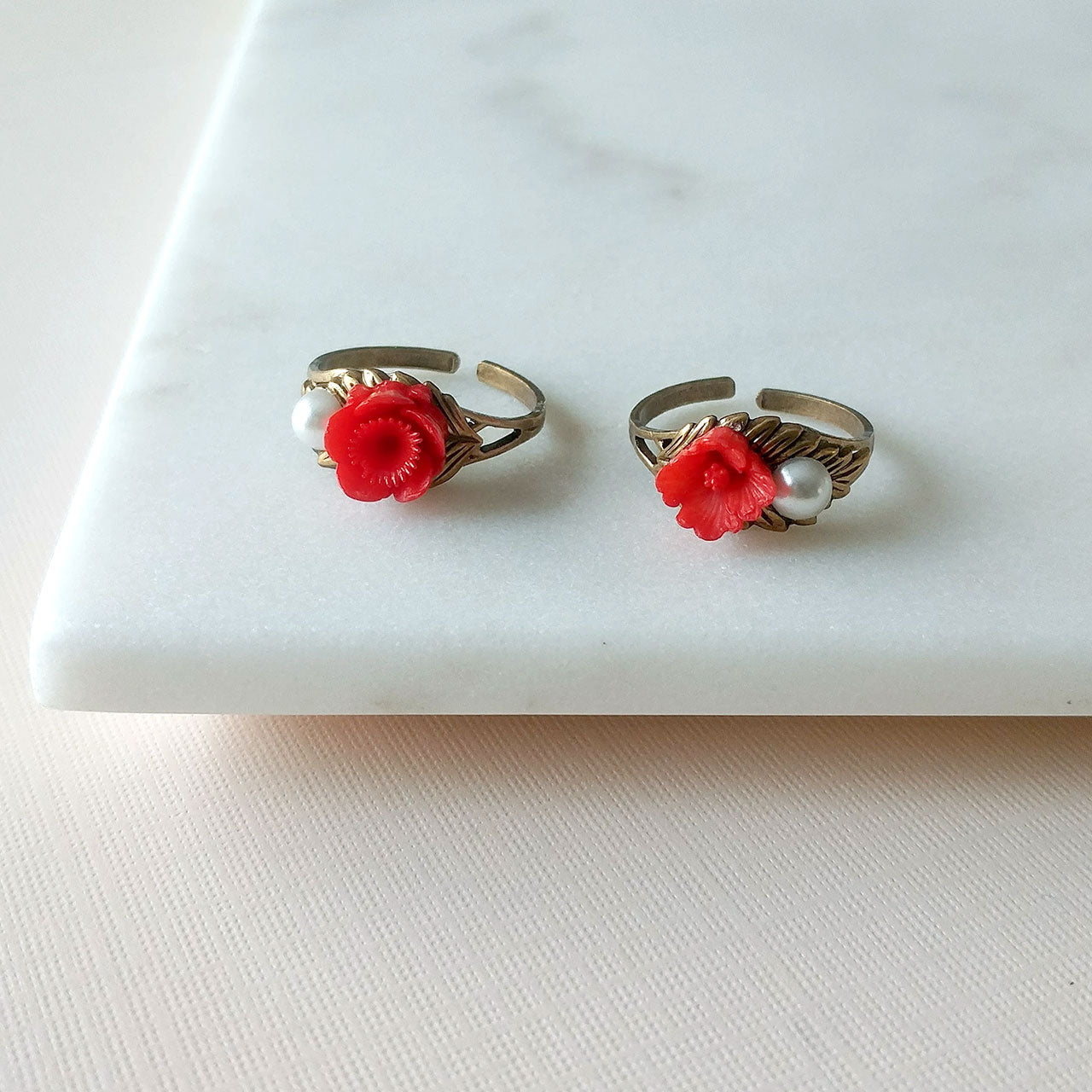 Sakura ring in red (SD1367)
