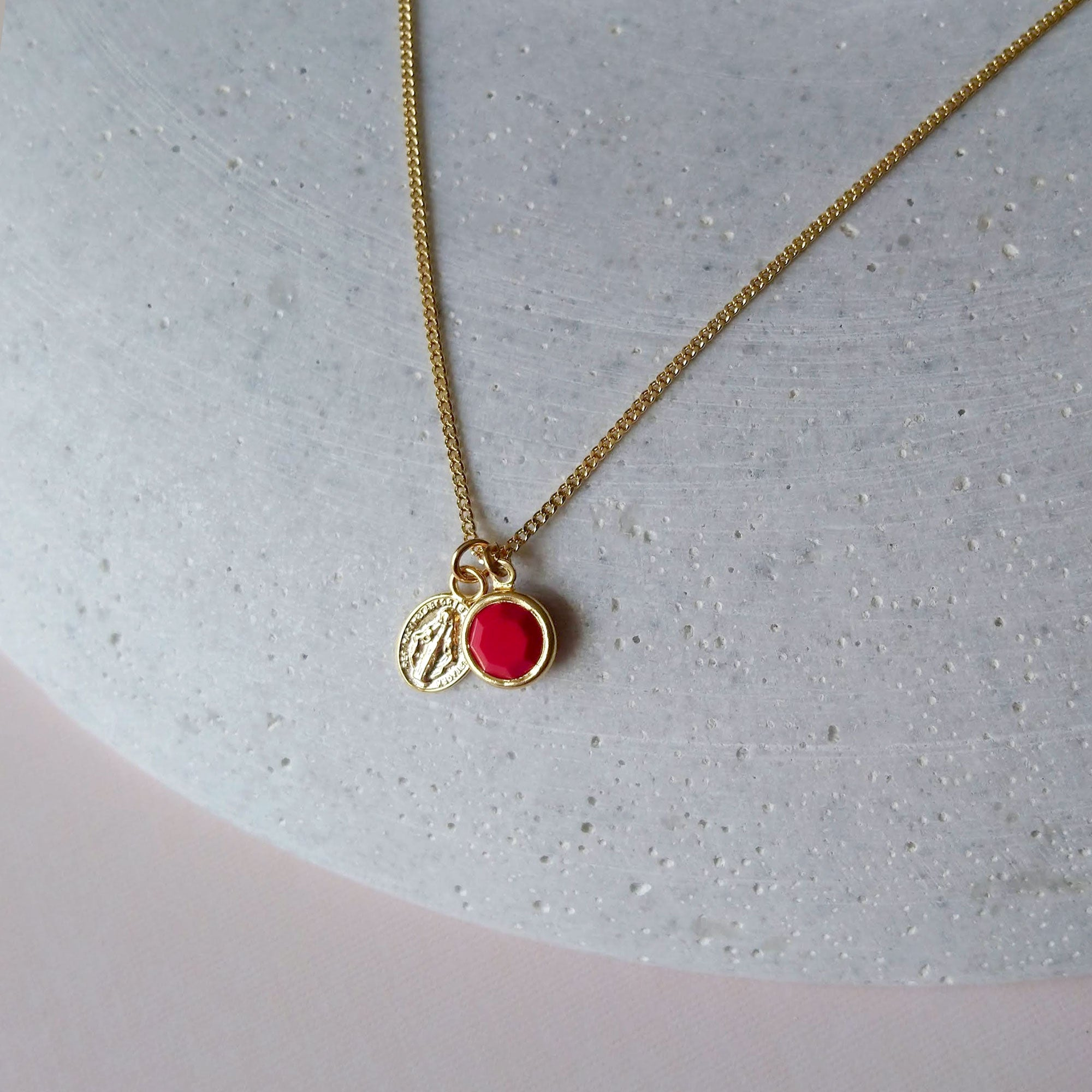 red charm chain