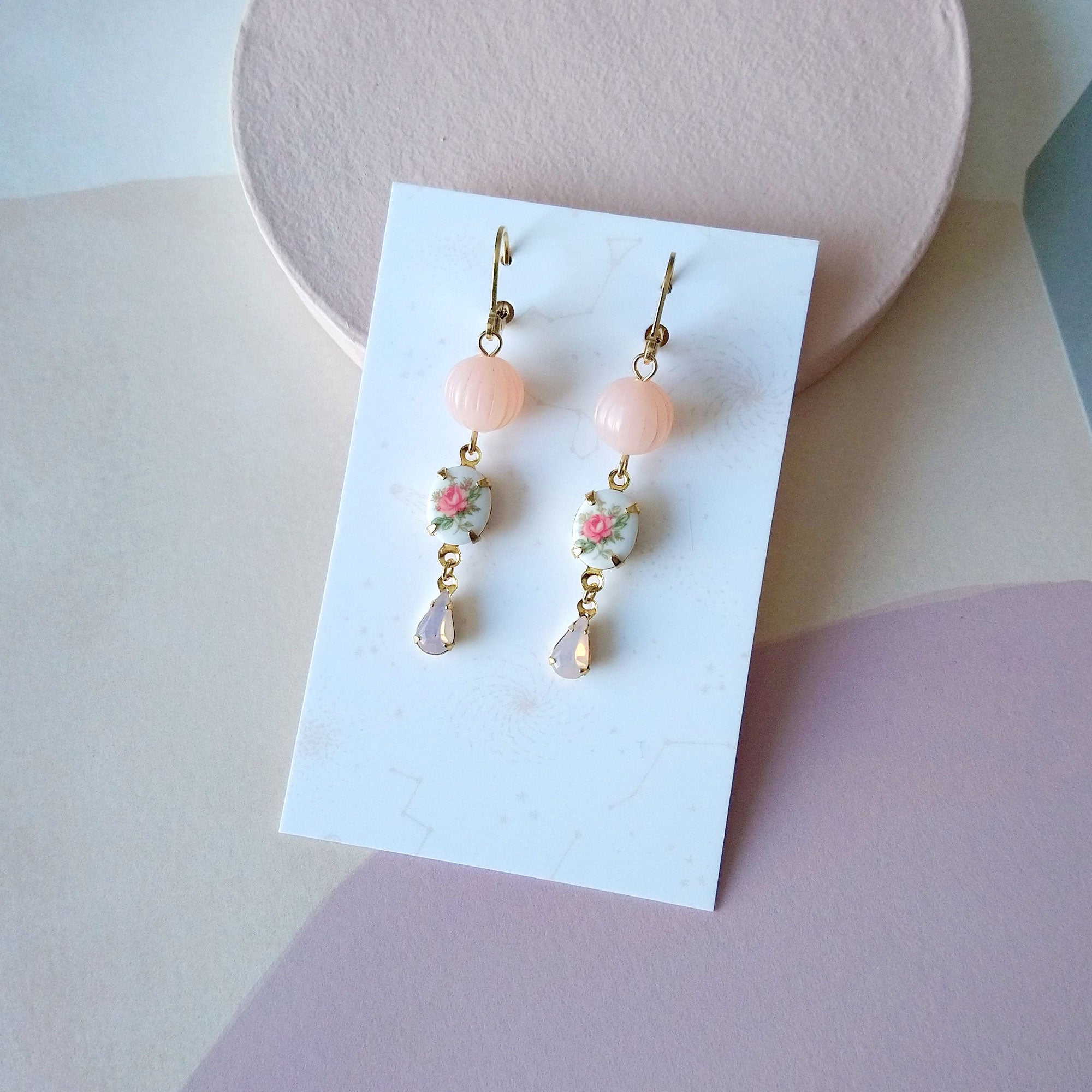 canadian made jewelry drop earrings