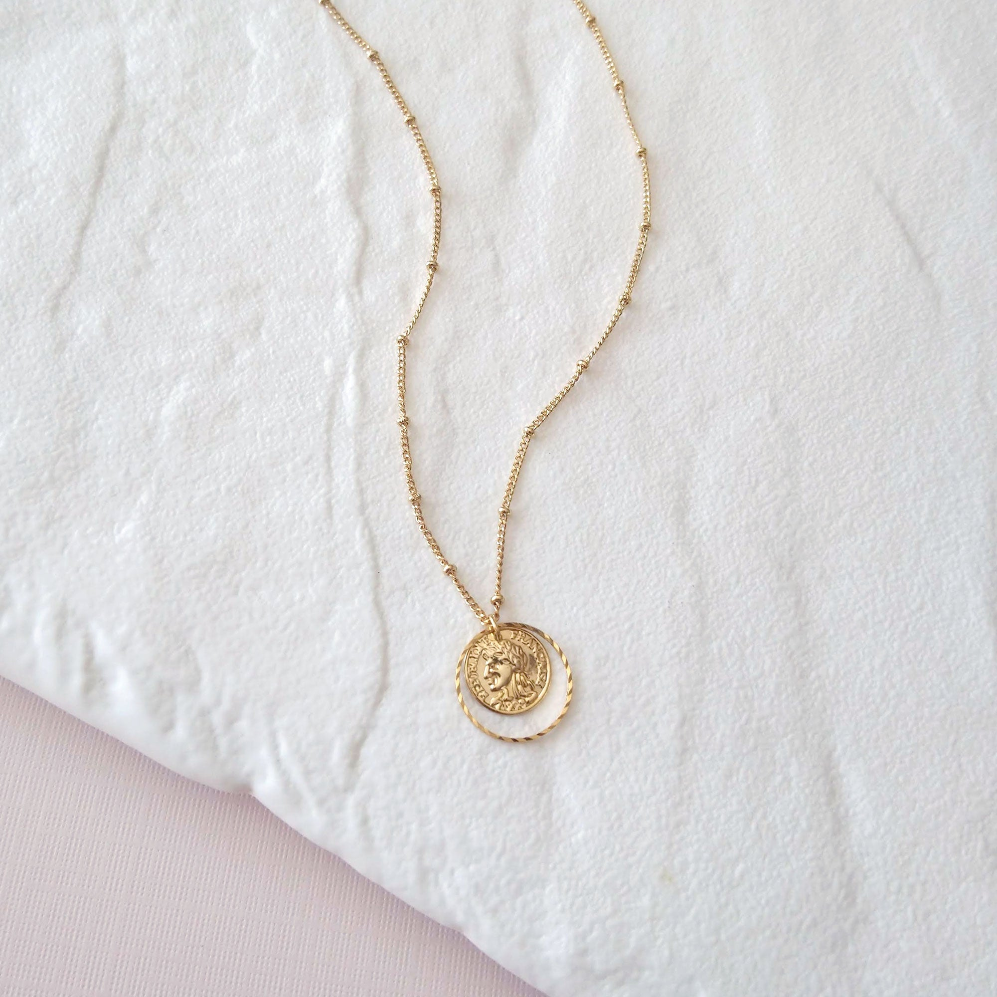 French republic coin necklace
