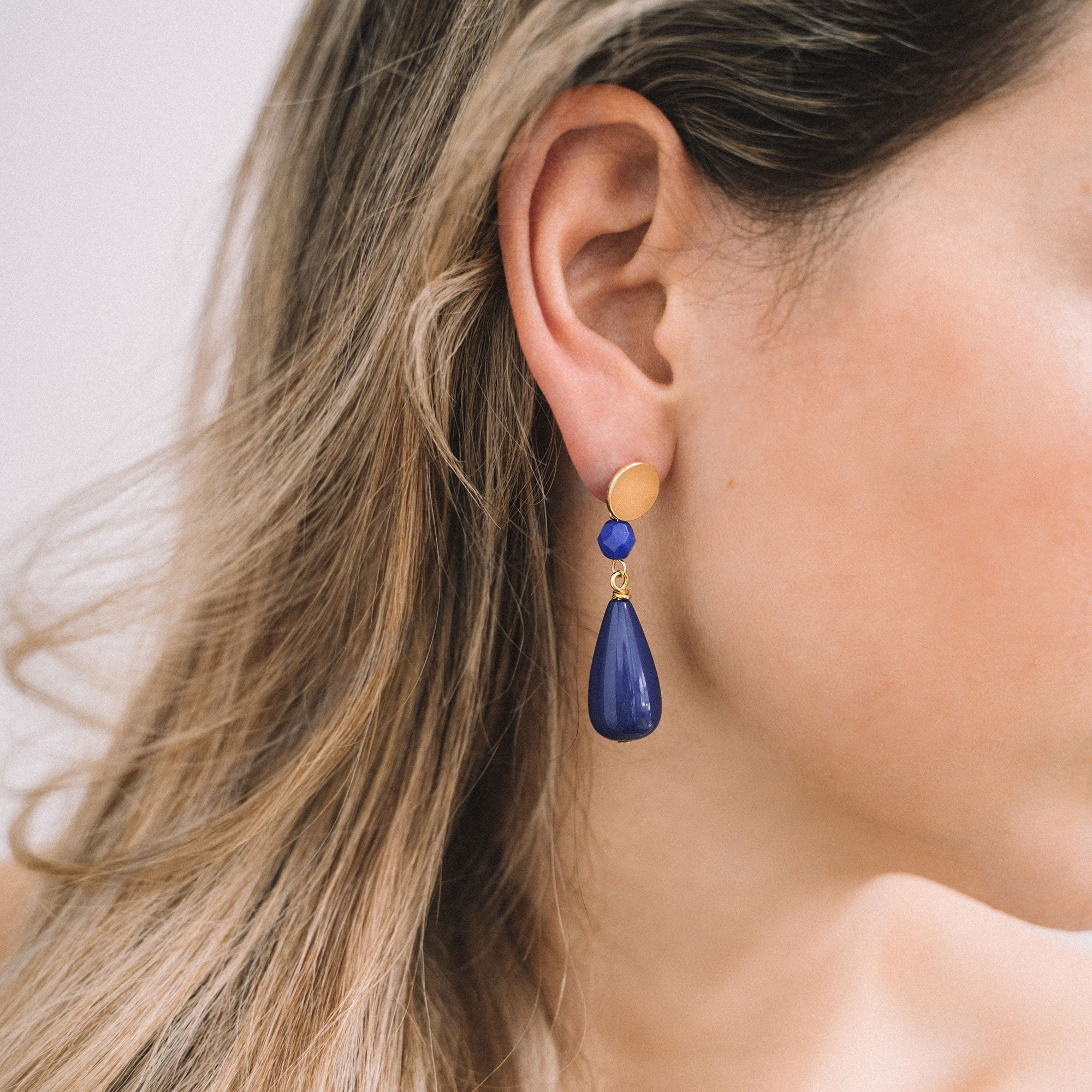 Deep Blue earrings (SD1646)
