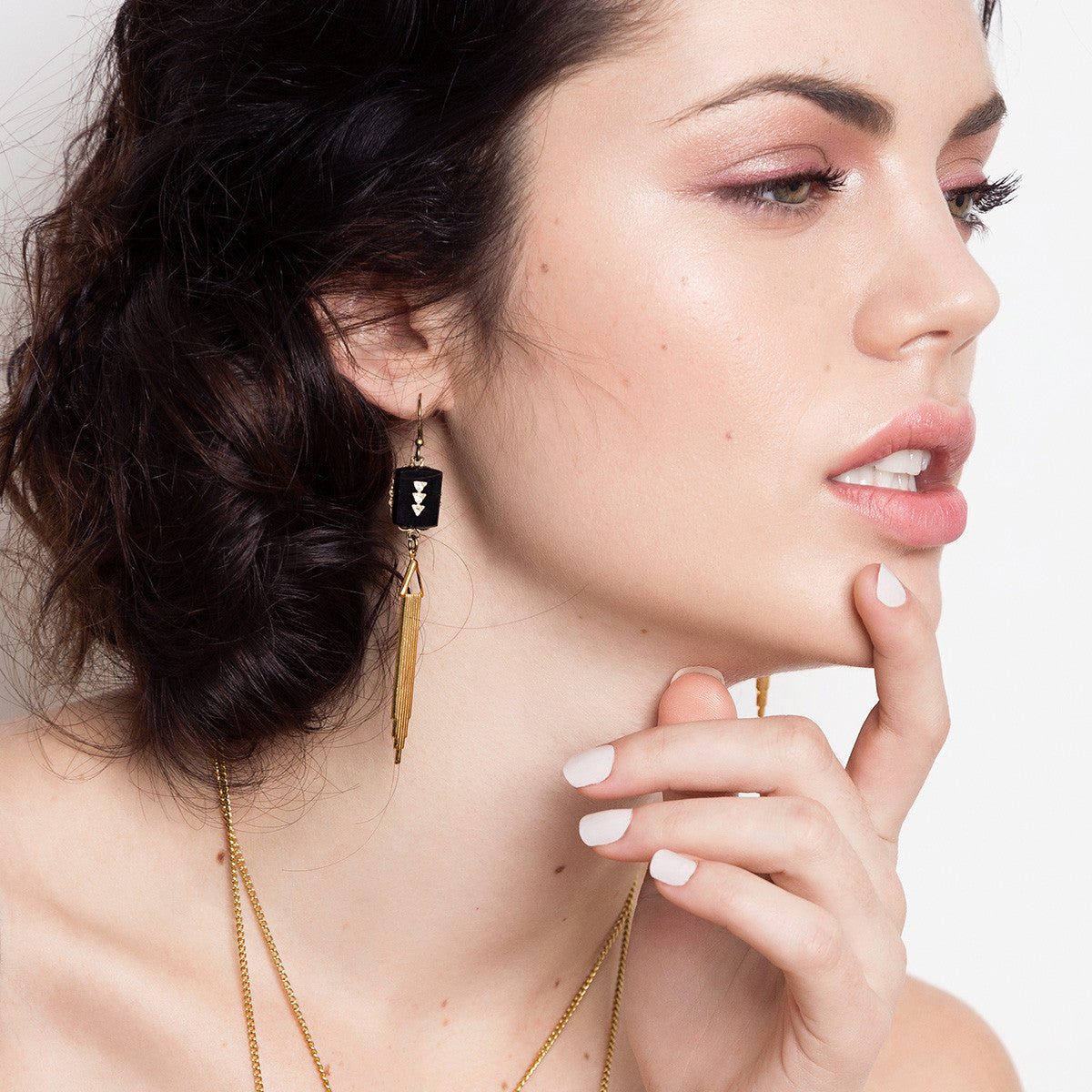 Marion II Earrings (SD793) - Sandrine Devost Jewelry