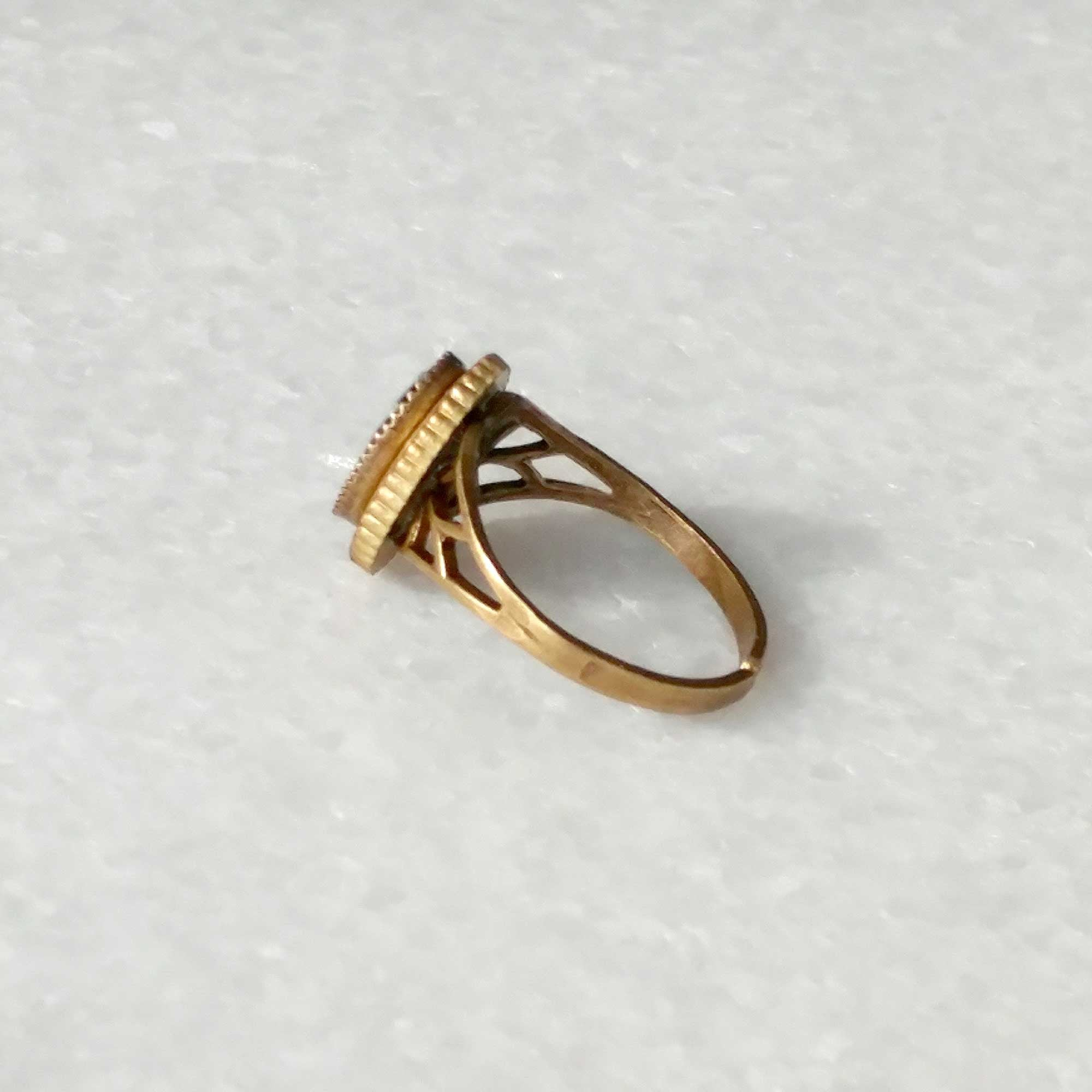 Caramba ring in black (SD632)