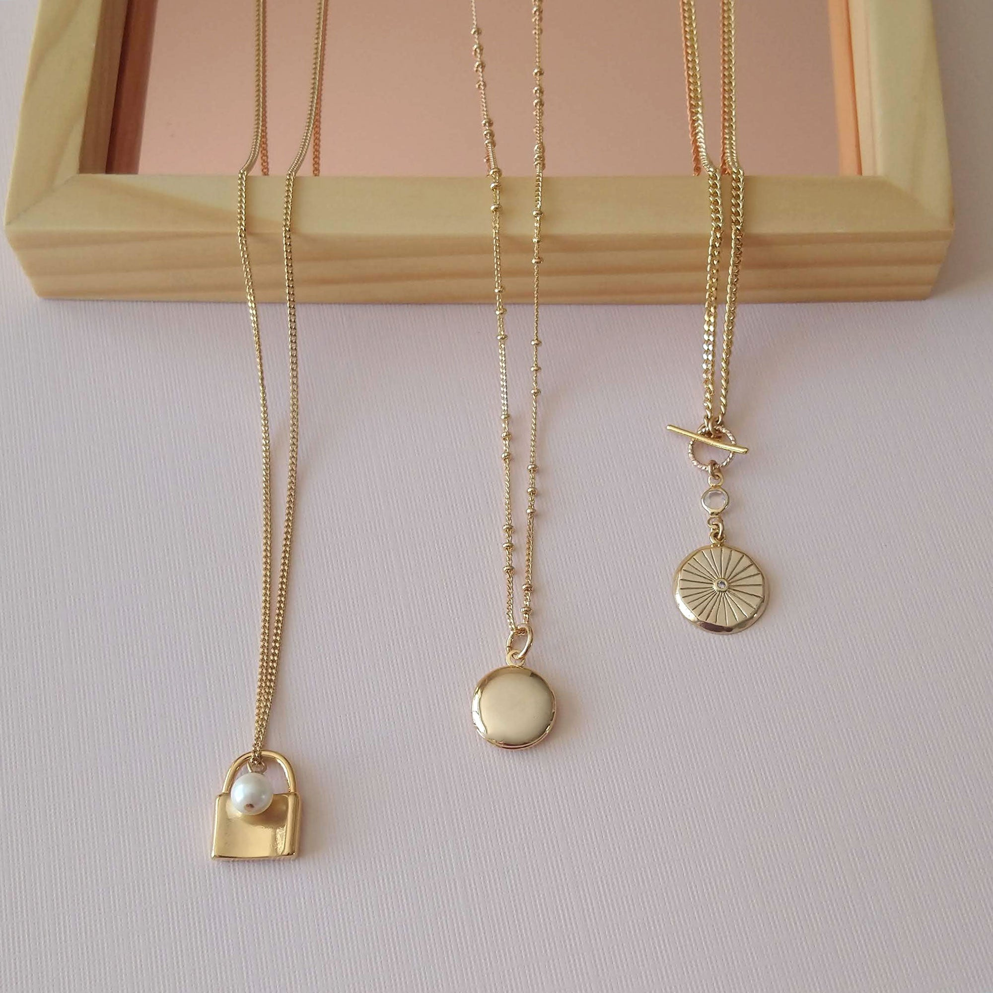 long necklaces lockets medallions