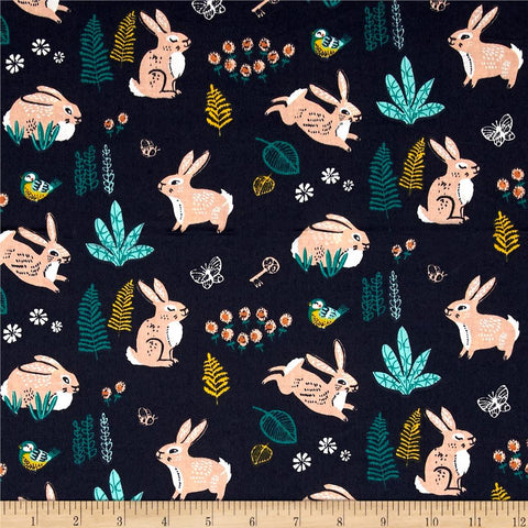 Bunny Hop in Dusk Made-to-Order Bag - Ewe Sew An Sew