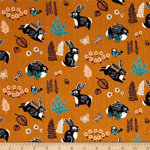 Bunny Hop in Orange Made-to-Order Bag - Ewe Sew An Sew