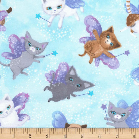 Fairy Cats Made-to-Order Bag - Ewe Sew An Sew