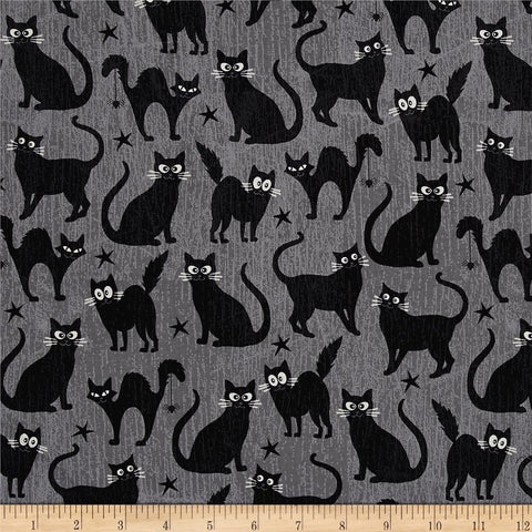 Cats in Grey Made-to-Order Bag - Glow in the Dark