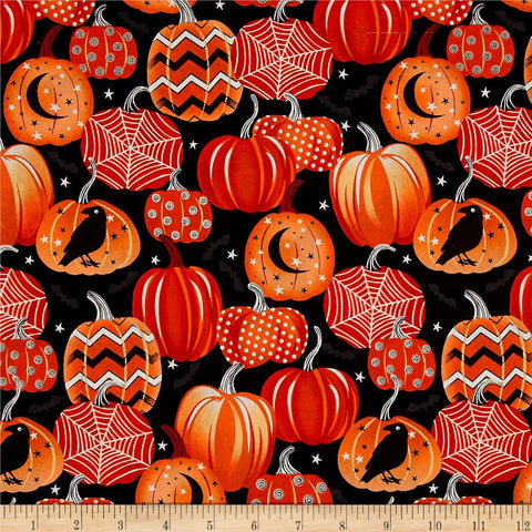 Pumpkins Made-to-Order Bag - Glow in the Dark - Ewe Sew An Sew