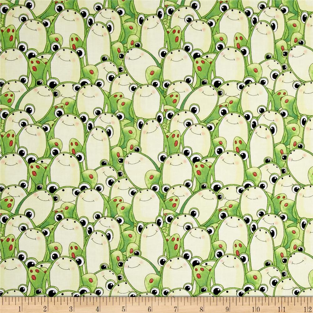 Frogs Made-to-Order Bag - Ewe Sew An Sew