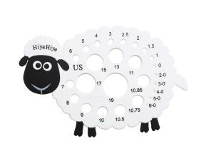 HiyaHiya Sheep Needle Gauge - Ewe Sew An Sew