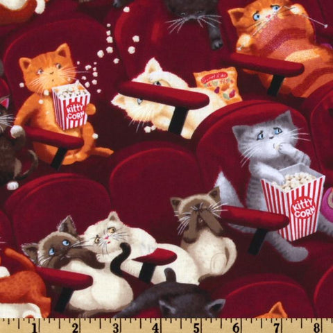 Movie Theater Cats Made-to-Order Bag - Ewe Sew An Sew