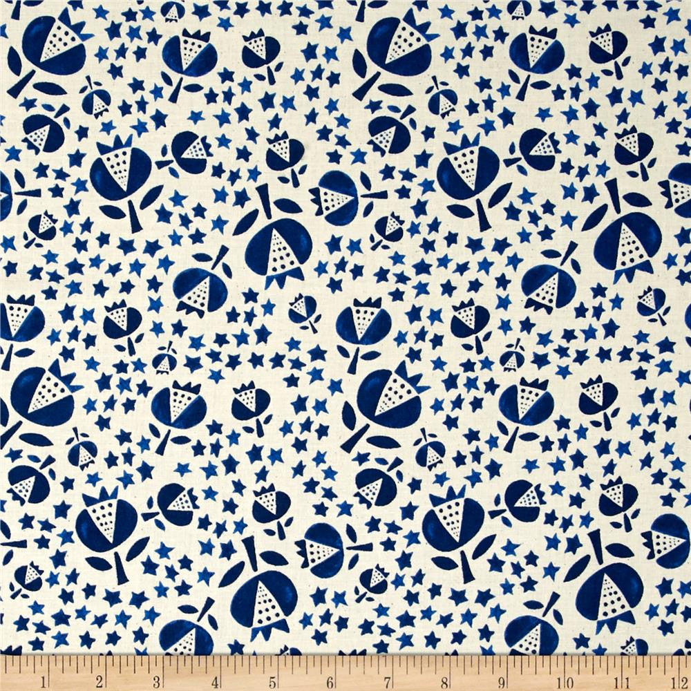 Thistle in Indigo Made-to-Order Bag - Ewe Sew An Sew