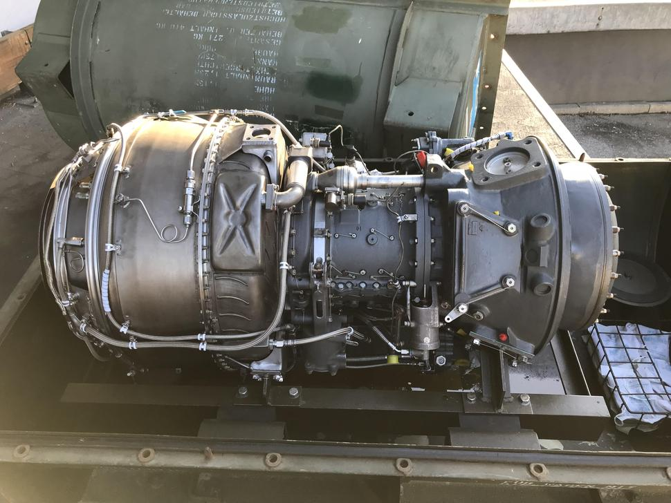 T53-L-13B German Built Engine