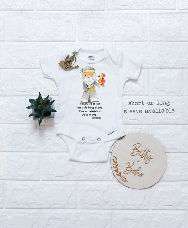 Dumbledore Quote - Harry Potter Onesie® (or T-Shirt) - Bitty & Boho
