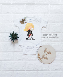 Hermione Onesie® - Harry Potter Baby Clothes (or T-Shirt) - Bitty & Boho