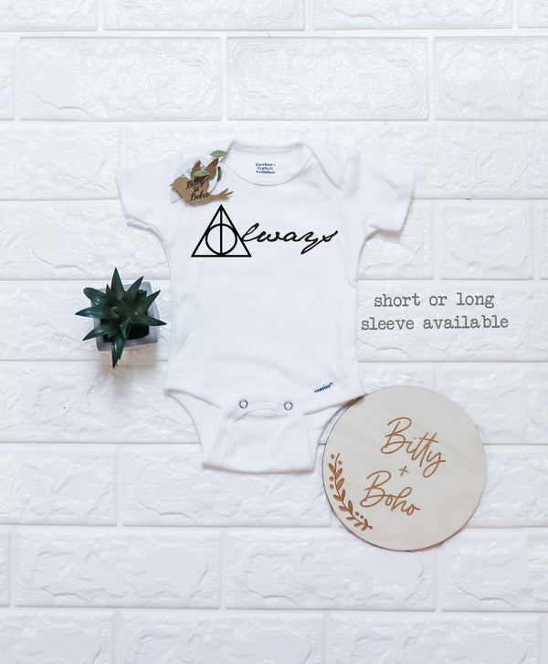Always Harry Potter Onesie® (or T-Shirt) - Bitty & Boho