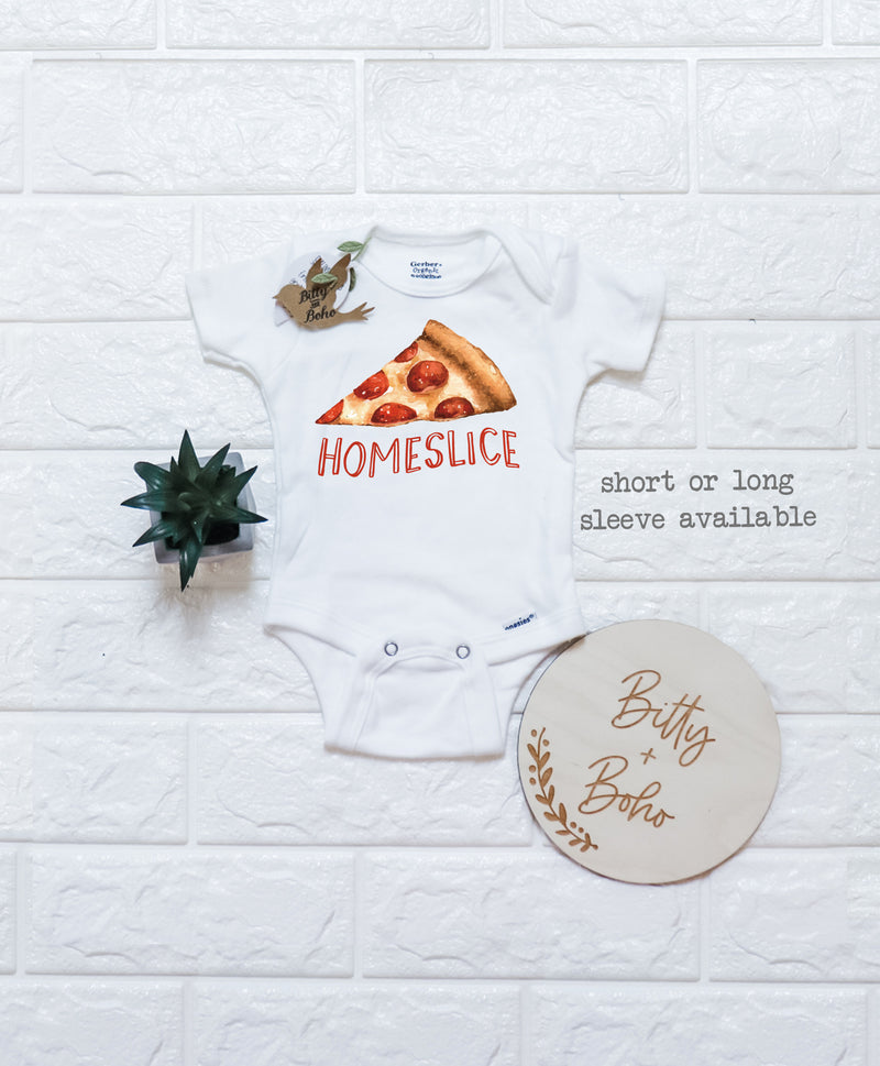 Homeslice Pizza Onesie® - Bitty & Boho