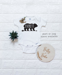 Custom Bear Onesie® - Bitty & Boho