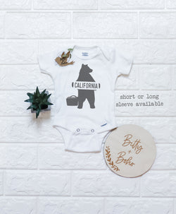 California Bear Onesie® - Bitty & Boho