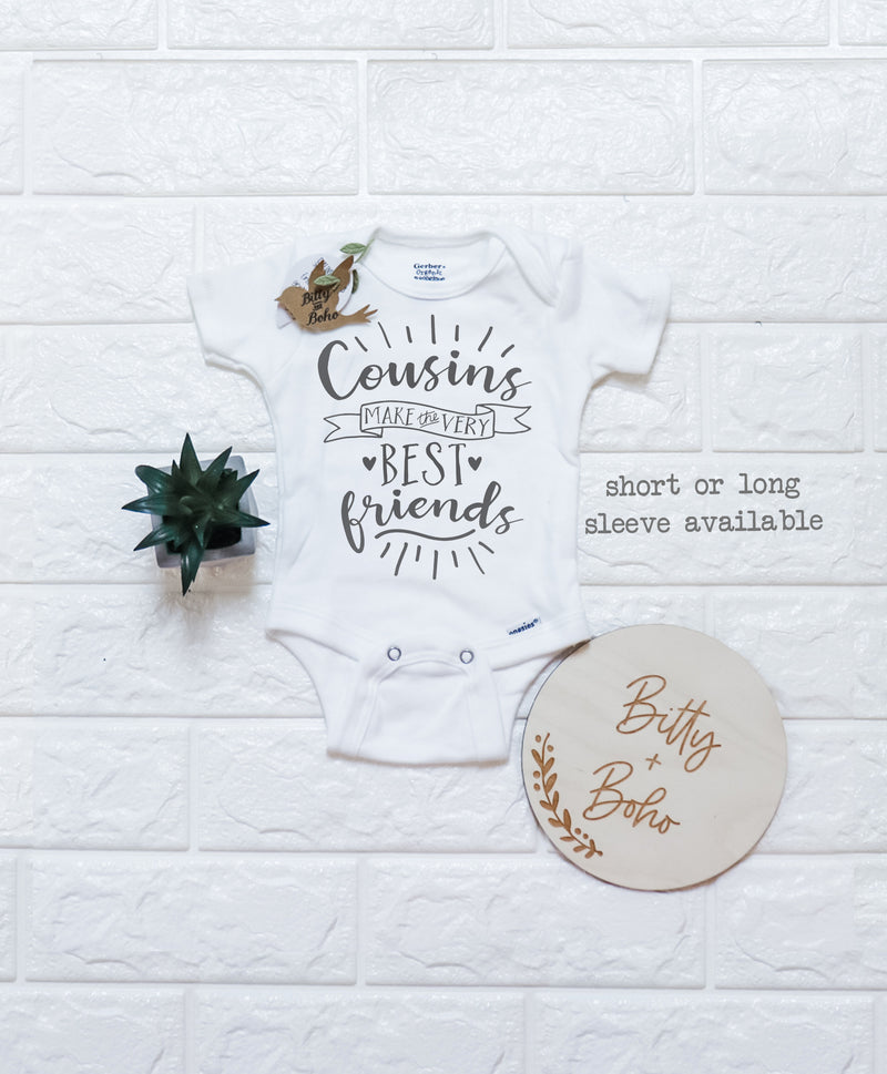 Cousins make the Best Friends Onesie® - Bitty & Boho