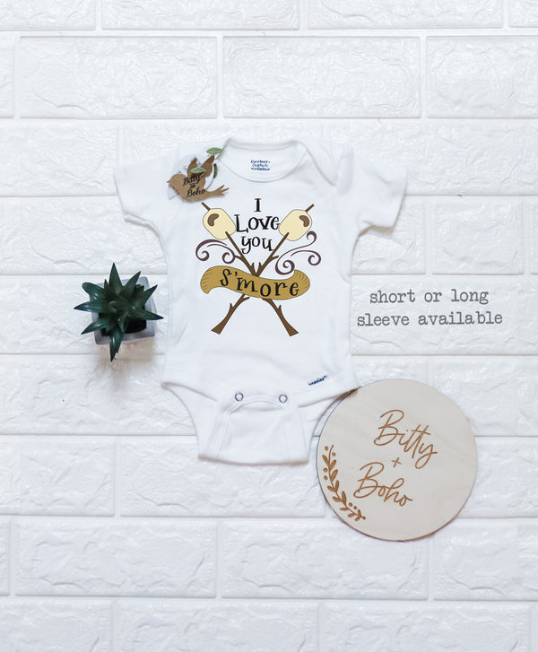 I Love You S'more Onesie® - Bitty & Boho