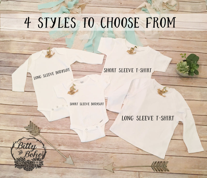 Stay Wild Moon Child Onesie® - Hippie Baby Clothes - Bitty & Boho
