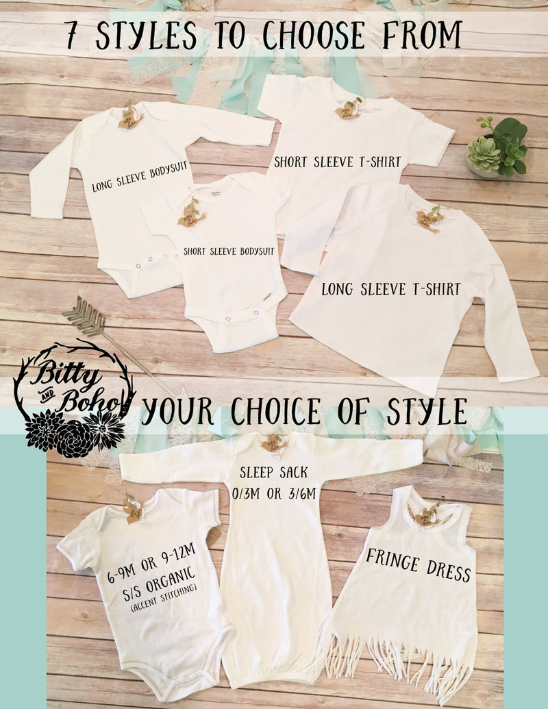 Elephant Onesie® - Custom Elephant Baby Shower Gift - Bitty & Boho