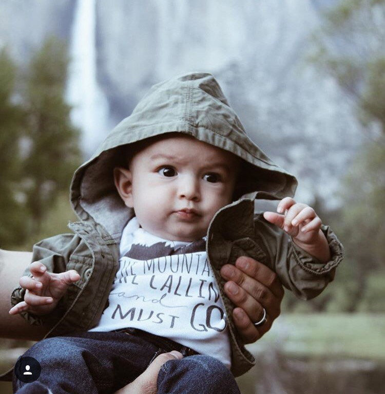 Mountains are Calling Onesie®, Baby Boy Clothes, Boho Baby Clothes, Baby Shower Gift, Cute Baby Onesies, Hipster Baby Clothes, Baby Boy Gift - Bitty & Boho