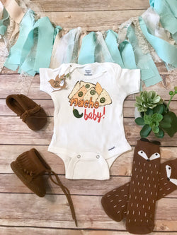 Nacho Baby Onesie®, Hipster Baby, Funny Baby Onesies, Baby Shower Gift, Nacho Shirt, Unisex Baby Clothes, Nacho Onesie,Mexican Food,Baby Boy