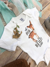 Newborn Boy Coming Home Outfit, Baby Name Onesie®, Deer Onesie, Custom Onesie, Baby Boy Clothes, Custom Baby Gift, Oh Deer, Unique Baby Gift