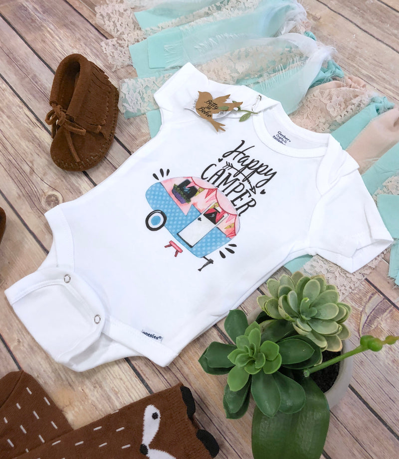 Happy Camper Onesie® - Bitty & Boho