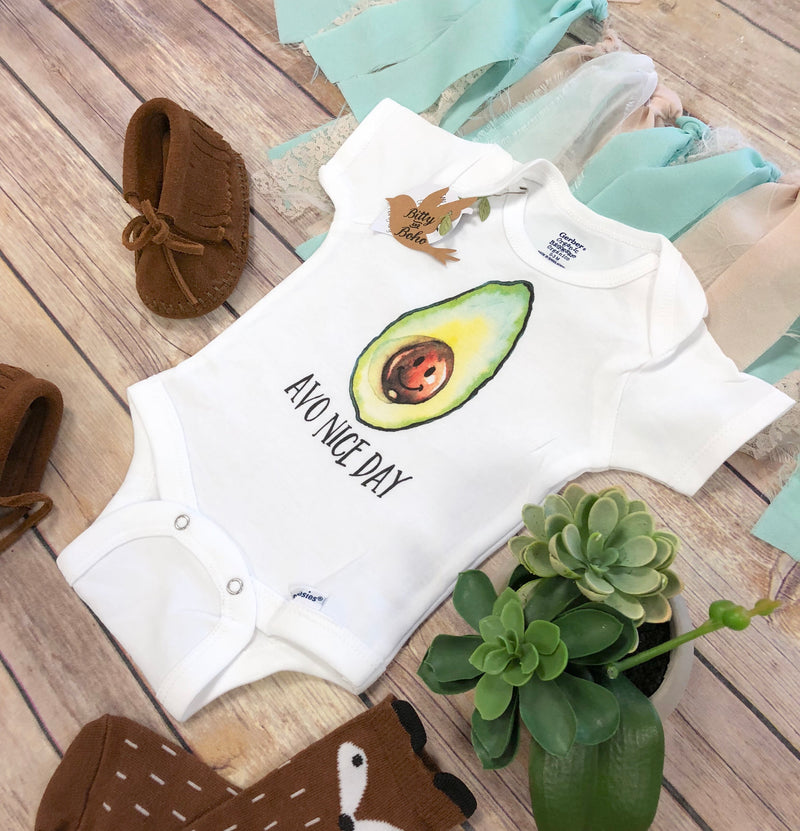 Have a Nice Day - Avocado Onesie®