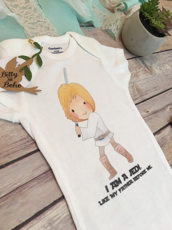 Luke Skywalker Onesie® - Bitty & Boho