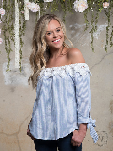 Leslie's Off Shoulder Top