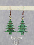 Holiday Earrings Christmas Tree