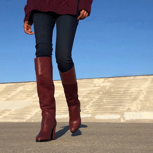 SARAH KNEE BOOT - 60% OFF (FINAL SALE) - NEIL J. RODGERS
