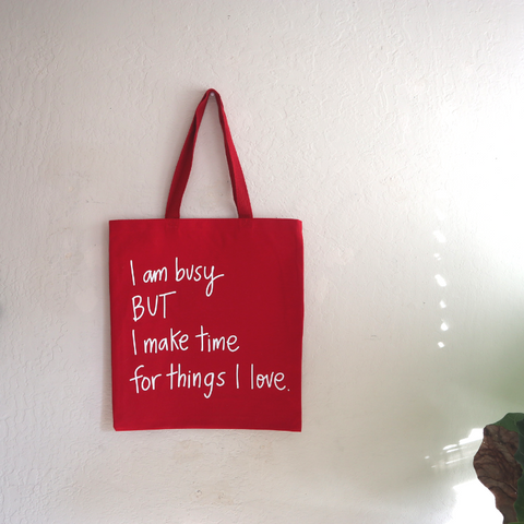 I Am Busy - Tote Bag