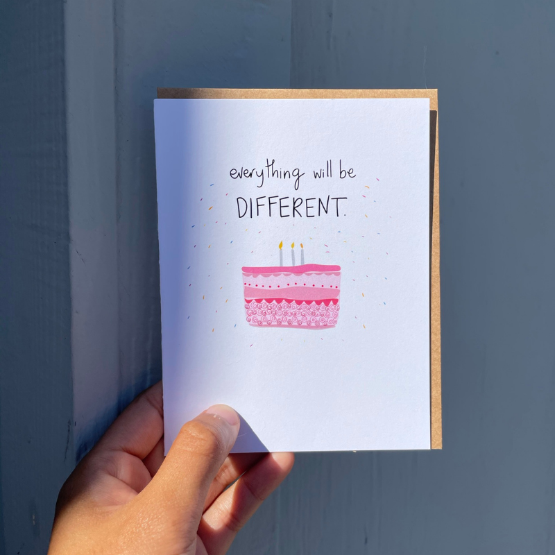 Everything Different - Greeting Card